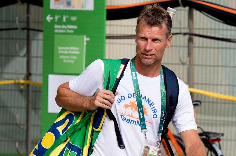 Jan Siemerink vorig jaar in Rio de Janeiro. Beeld ANP