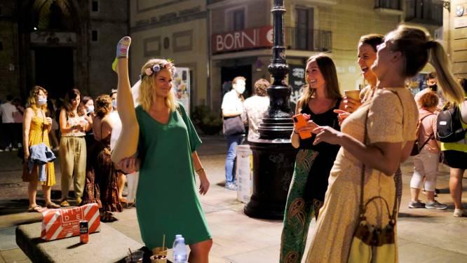 Avondklok in Barcelona met week verlengd