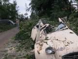 Grote stormschade in Leersum