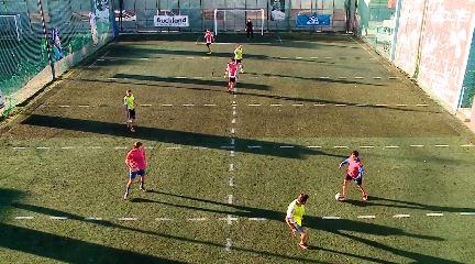 Un terrain de football à Pergamino, en Argentine