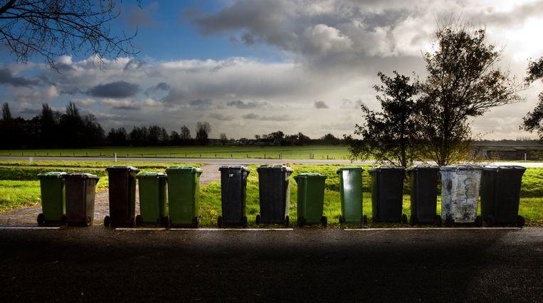 De afvalstoffenheffing is gestegen en dat merkt de burger in zijn portemonnee. Beeld Koen Suyk, ANP