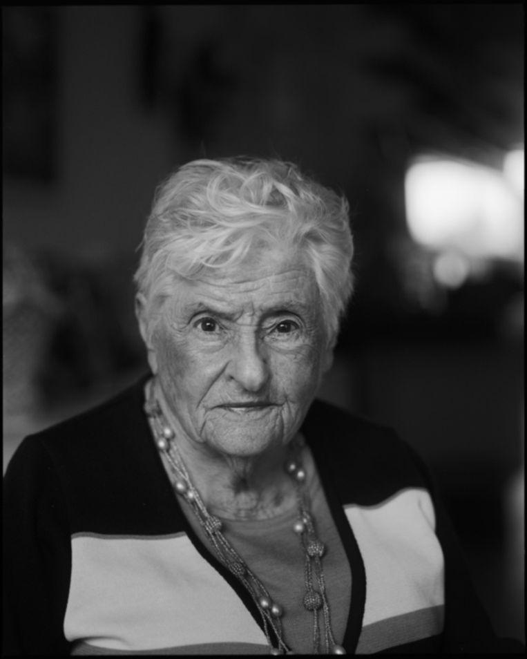 Betty Goudsmit-Oudkerk. Beeld MARC DRIESSEN
