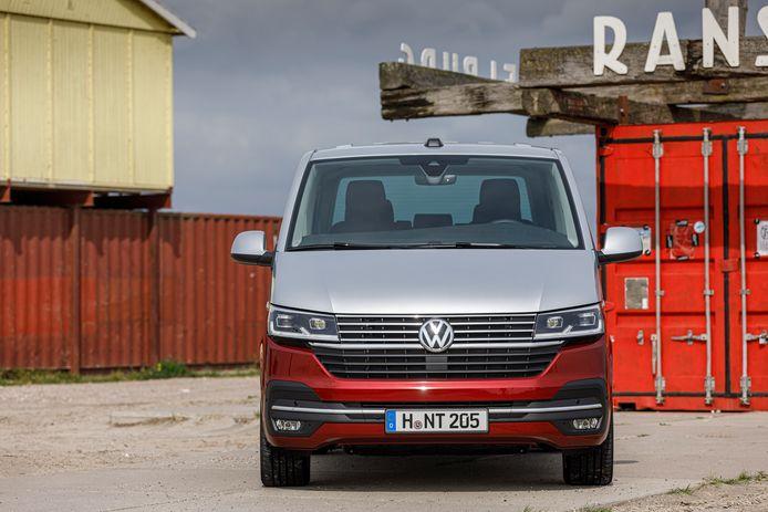 De Volkswagen Transporter werd ook ditmaal héél voorzichtig vernieuwd