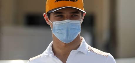McLaren-coureur Norris test positief op corona tijdens vakantie in Dubai