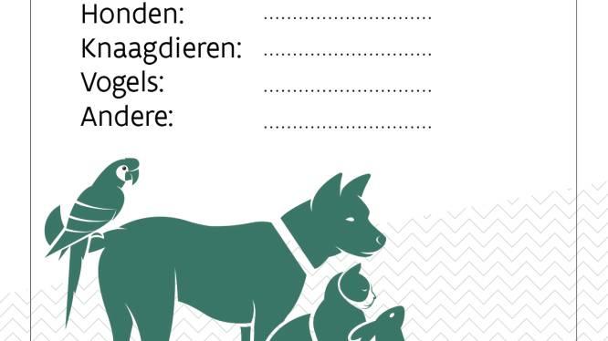 """Uniforme huisdiersticker moet dierenlevens redden: """"Wie zijn huisdier graag ziet, maakt het de brandweer gemakkelijk"""""""