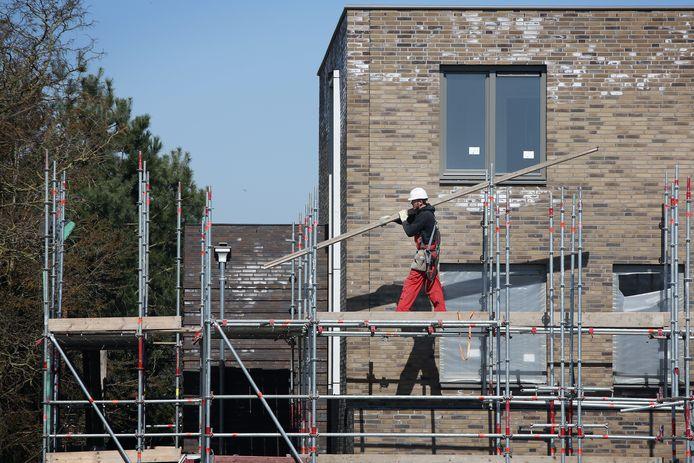 Een bouwproject in Tilburg