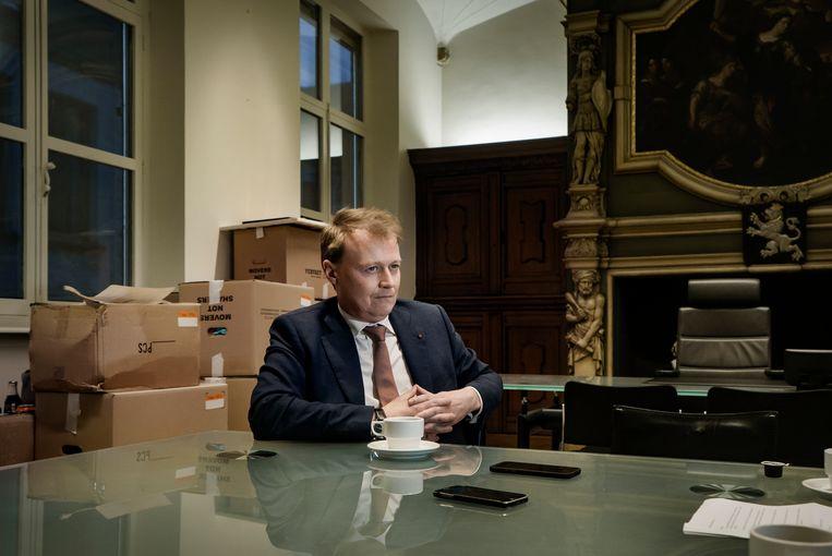 Christophe Peeters. Beeld Eric de Mildt