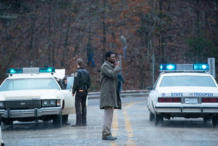 Mahershala Ali (in de rol van Wayne Hays) moet in seizoen 3 van 'True Detective' een zaak van twee vermiste kinderen oplossen. Beeld Warrick Page