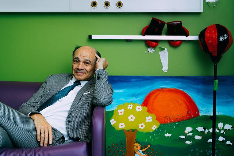 Peter Adriaenssens: 'Ik heb een groot respect voor leraars.' Beeld Illias Teirlinck