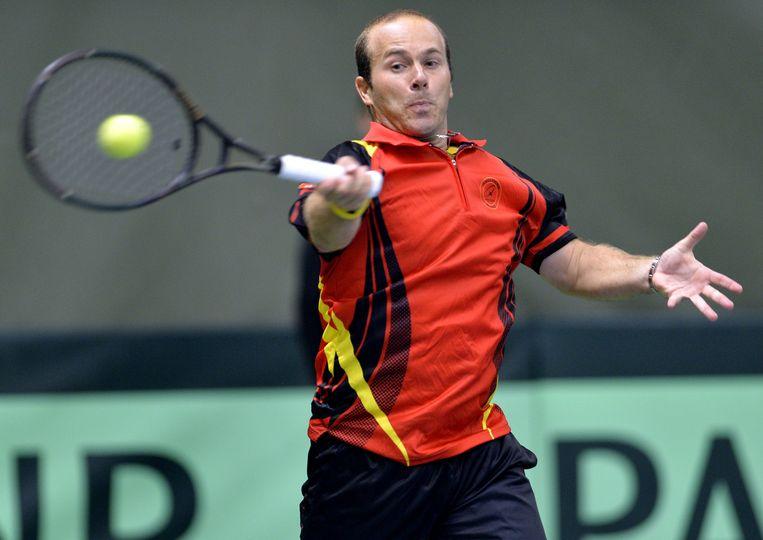 Olivier Rochus staat op 2 met 833 enkelwedstrijden. Beeld BELGA