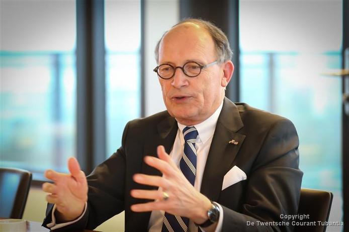 Fred de Graaf, voorzitter van de Regio Twente.