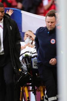 Deense voetbalbond komt met goed nieuws: 'Toestand Eriksen stabiel, hij doet zijn teamgenoten de groeten'