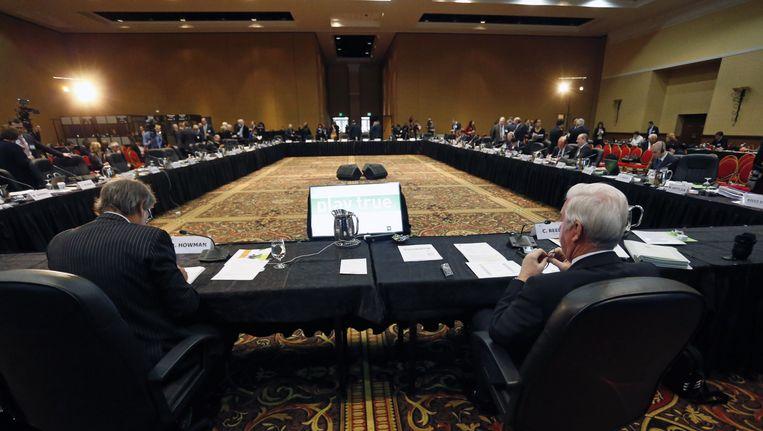 Het WADA kwam gisteren samen in Colorado Springs Beeld AP
