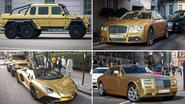 Stinkend rijke Saoedi gaat op reis en neemt mee: 4 wagens van goud