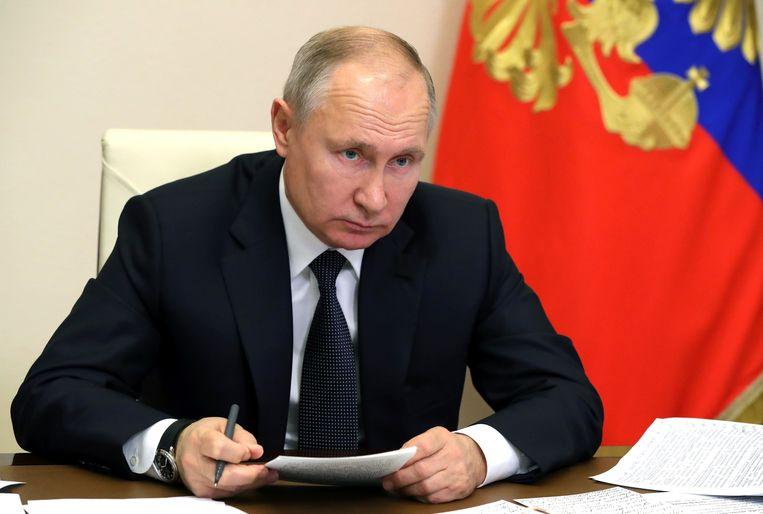 Vladimir Poetin Beeld via REUTERS