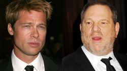 Straf: Brad Pitt dreigde Harvey Weinstein te vermoorden