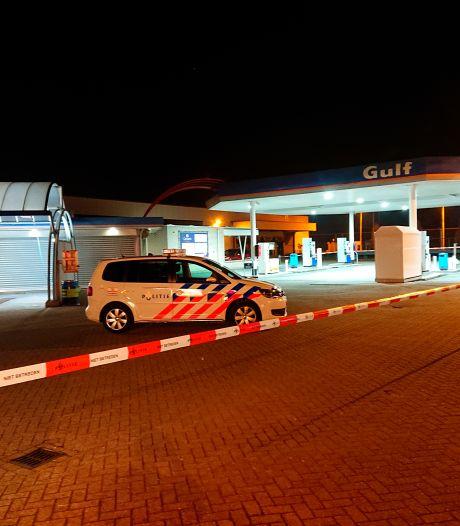 Tankstation in Veenendaal overvallen, verdachten vluchtten op scooter