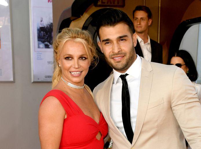 Britney Spears en haar verloofde Sam Asghari