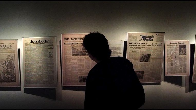 Het Persmuseum viert zijn eeuwfeest Beeld anp