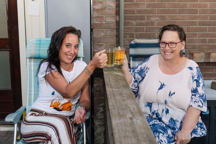Sandra en Bernadette uit Bilthoven.