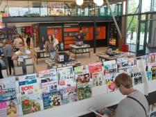 Nieuwe ingang voor bibliotheek binnen nieuwbouw Pontes Pieter Zeeman in Zierikzee