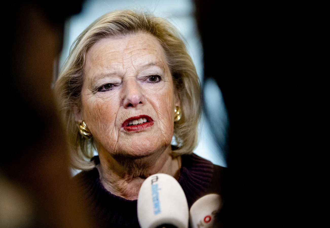 Staatssecretaris Ankie Broekers-Knol van Justitie en Veiligheid.