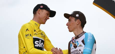 Froome krijgt concurrentie van Bardet in Vuelta