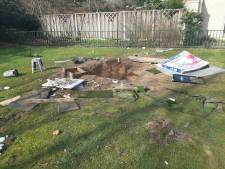 Kinderen mogelijk veroorzakers puinhoop op speelveldje Winterswijk