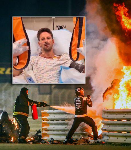Nieuwe handschoenen voorkomen in Formule 1 brandwonden zoals bij Grosjean