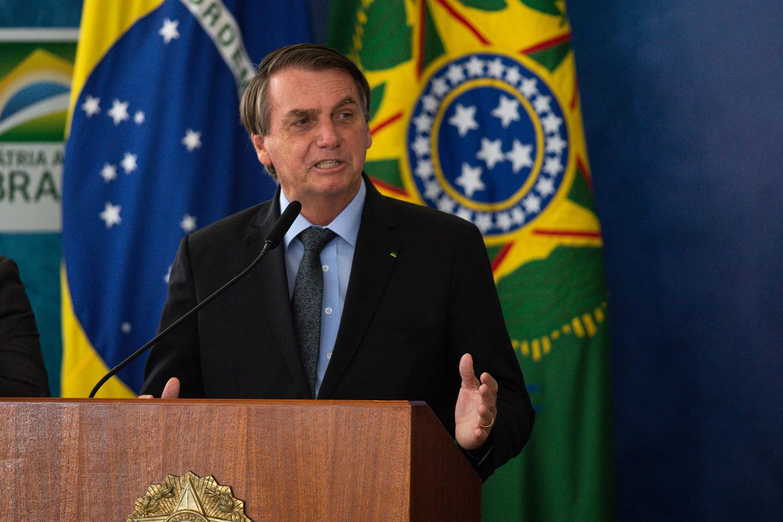 President Bolsonaro heeft corona altijd bespot