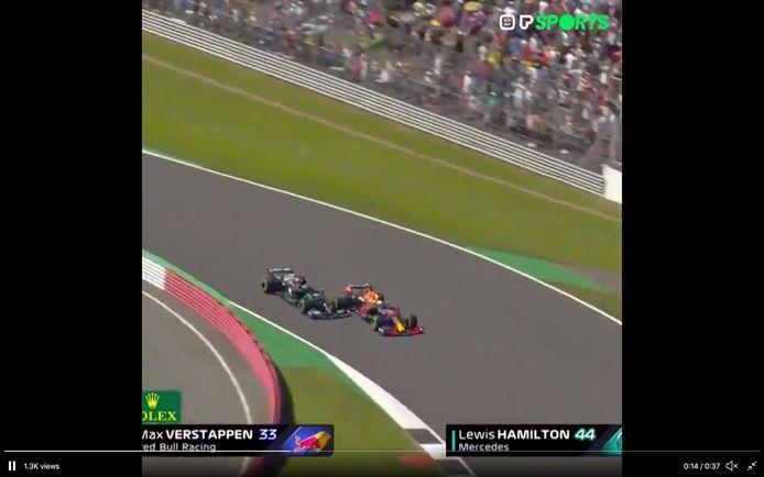 Crash Max Verstappen
