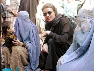 """Goedele Liekens over vrouwen in Afghanistan: """"Misschien zullen de taliban wel even hun rechten respecteren. Met de nadruk op 'even'"""""""