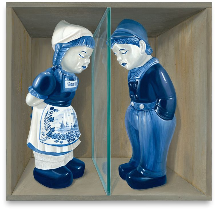 Jan & Grietje (2020) van Leon Keer. Beeld Leon Keer / courtesy Wanrooij Gallery