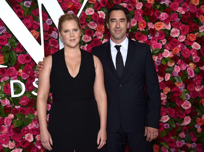 Amy Schumer en haar echtgenoot Chris Fischer.