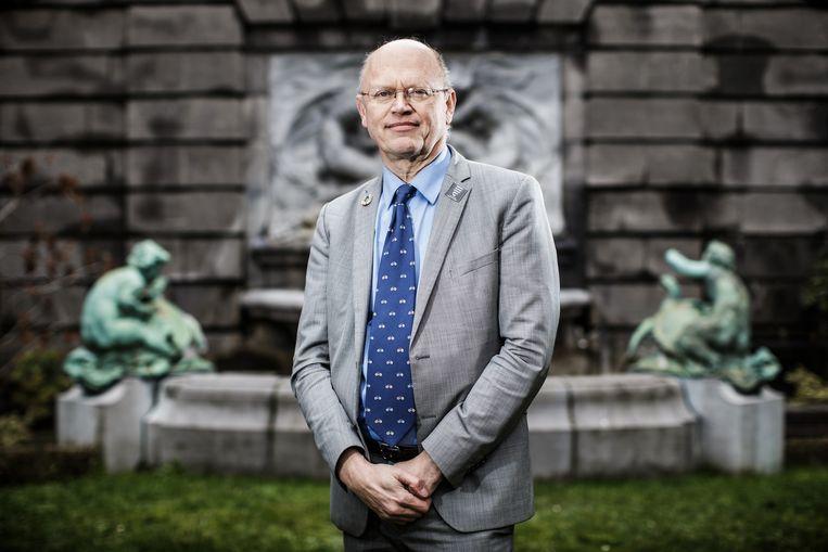 Klimaatprofessor Jean-Pascal van Ypersele.  Beeld Bob Van Mol