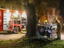 Bestuurder van tractor ziet inhalende automobilist over hoofd