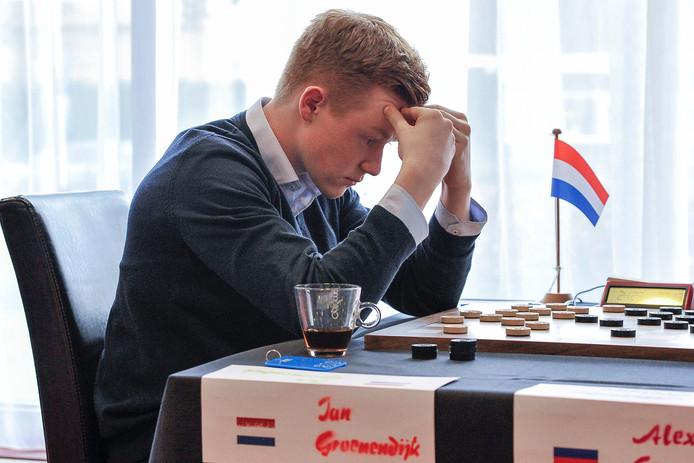 Dammer Jan Groenendijk uit Wageningen