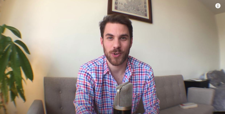 Evan Puschak alias The Nerdwriter levert ongeveer eens per maand een video-essay van zo'n zeven minuten af. Beeld