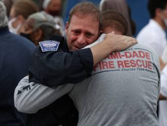 """Tranen en gebeden bij einde reddingsoperatie flatramp Miami: """"We hebben alles geprobeerd"""""""
