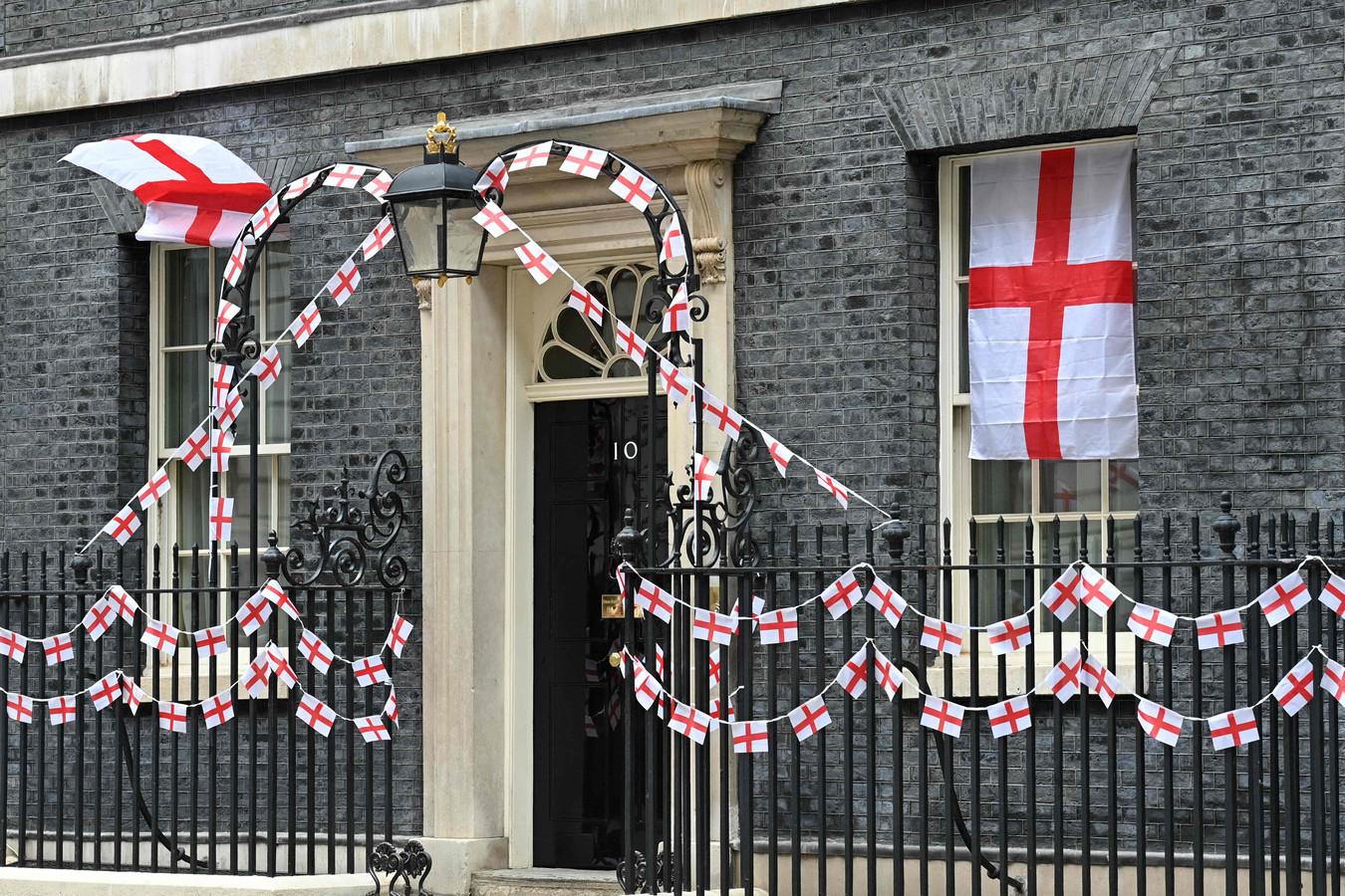 Downing Street 10.