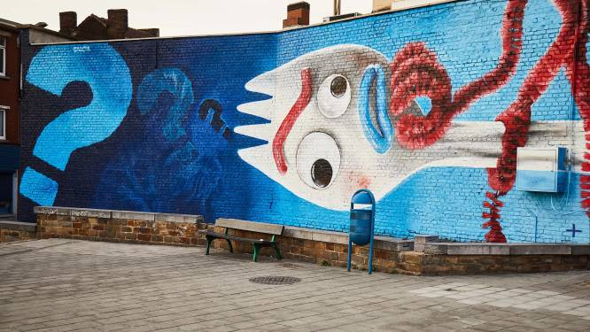 Van baby Yoda tot Forky: Disney organiseert streetarttour door België