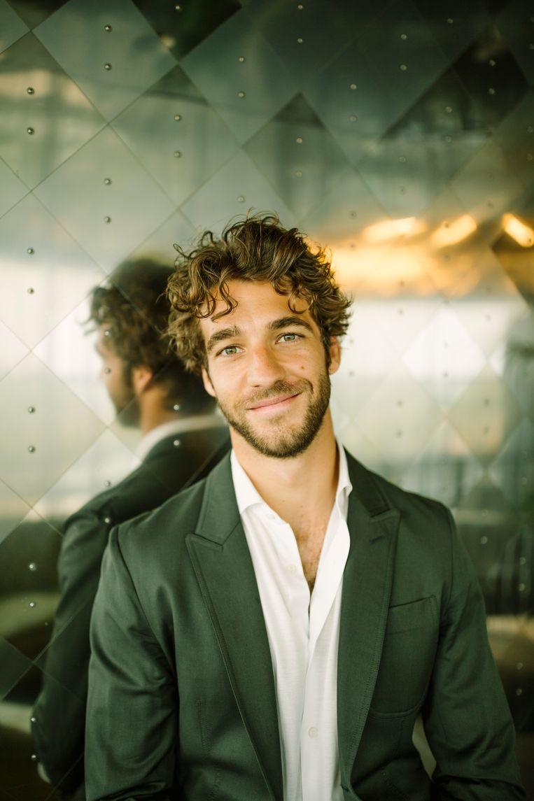 Lorenzo Viotti, de nieuwe chef dirigent van de De Nationale Opera. Beeld Desiré van den Berg