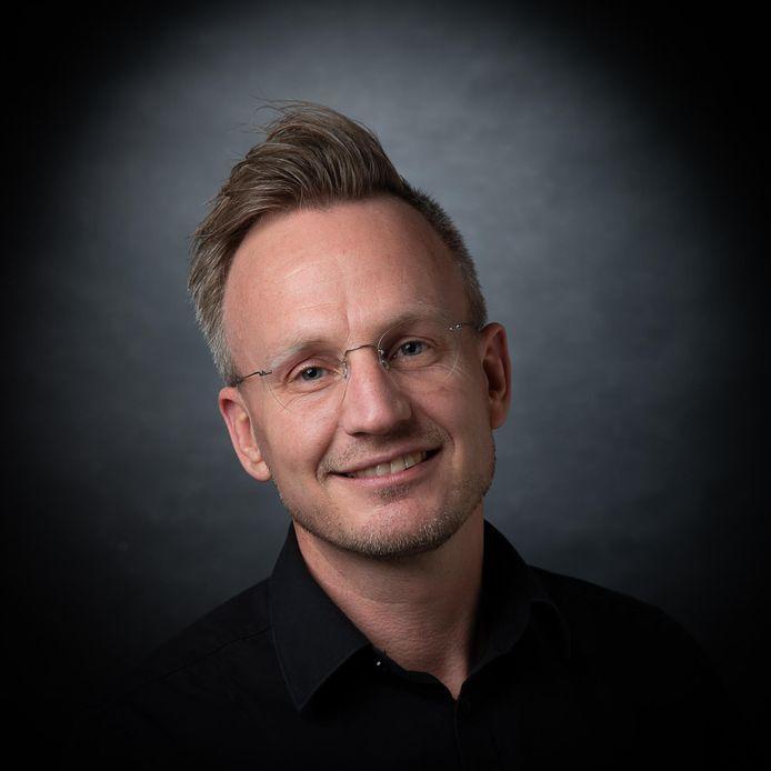 Schooldirecteur Arjan van der Wart