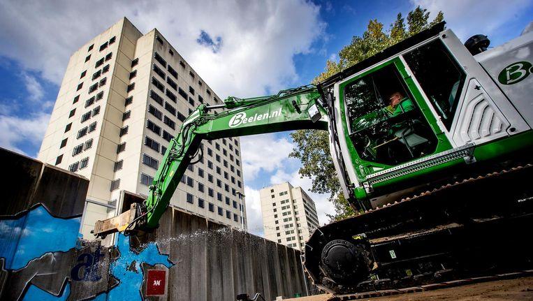 Nieuwbouwprojecten zouden niet meer aantrekkelijk zijn vanwege de strenge eisen die de gemeente stelt. Beeld anp