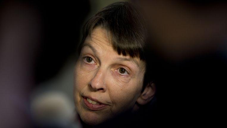 Jetta Klijnsma, staatssecretaris, eist dat Amsterdam zo snel mogelijk orde op zaken stelt. Beeld ANP