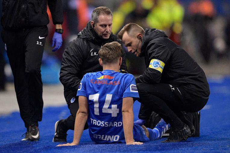 Trossard liep een blessure op tegen Standard.