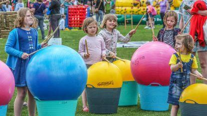1.400 kinderen op Buitenspeeldag in de Gavers, meteen ook aftrap 'Generatie Rookvrij'