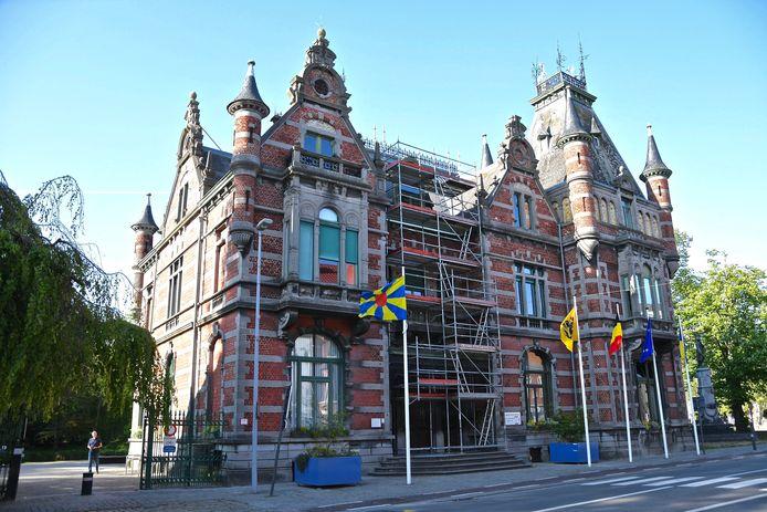 Het gemeentehuis van Wevelgem