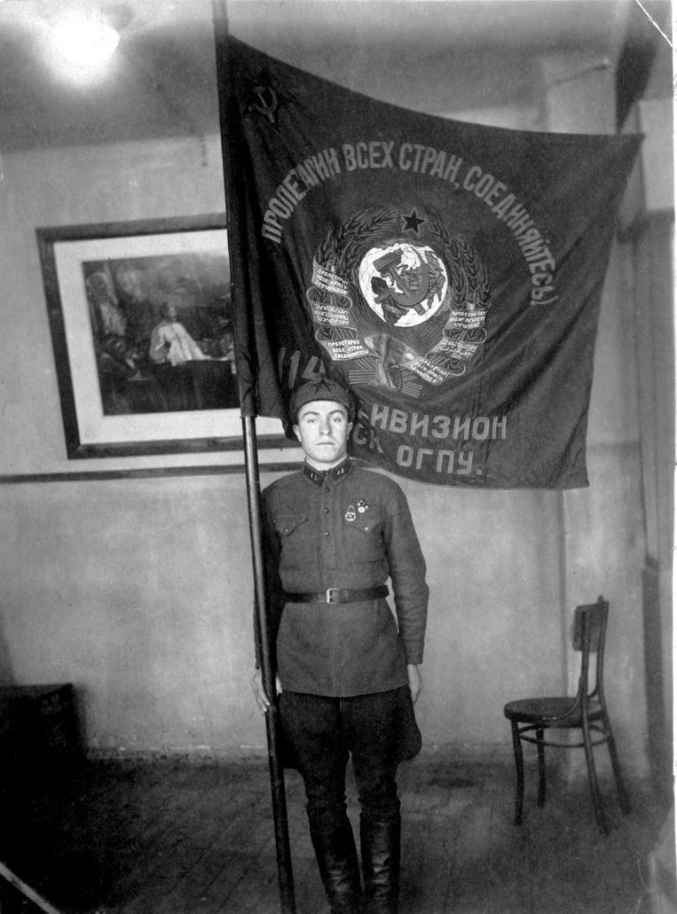 Grootvader Vasili  als jonge man. Beeld
