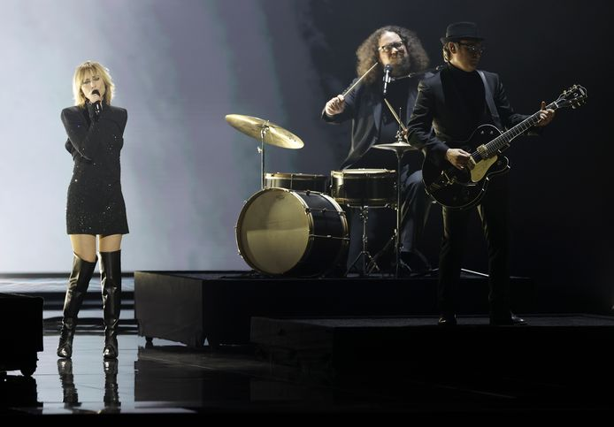 Hooverphonic op Eurovision 2021.